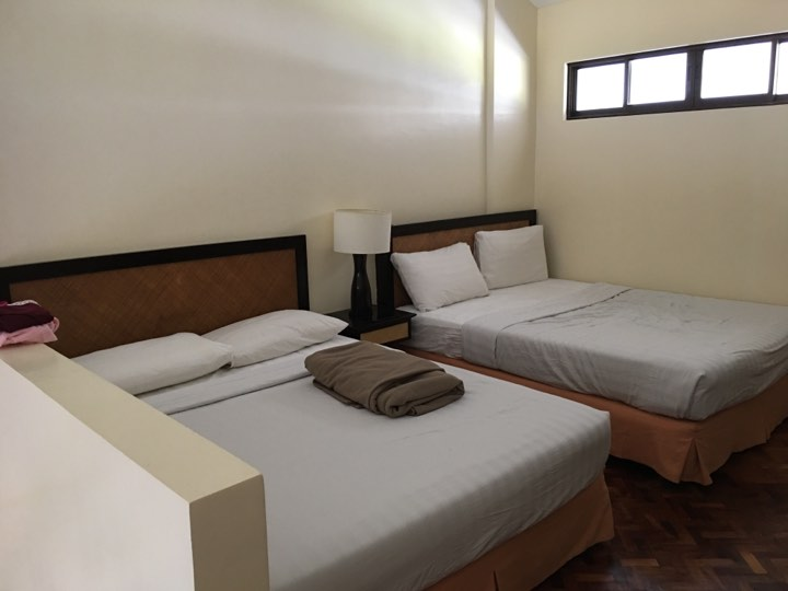the loft room at Alta Vista de Boracay