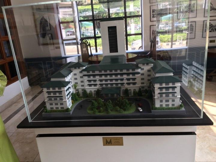 Manila Hotel diorama