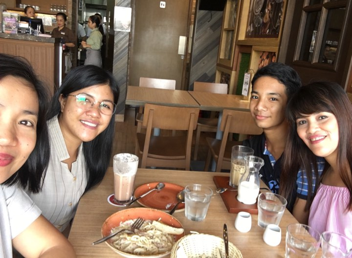 Our coffee bonding at UCC Clockwork Xentro Mall