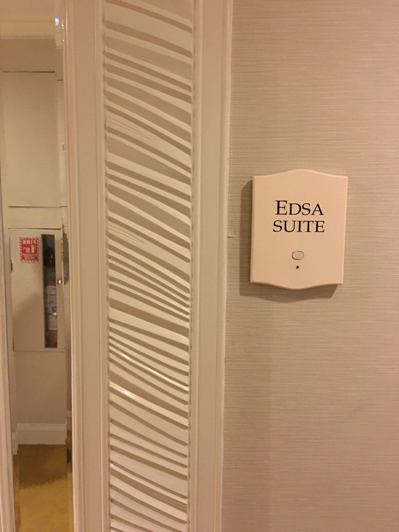 The most expensive suite at the EDSA Shangri-la Hotel- the Edsa Suite
