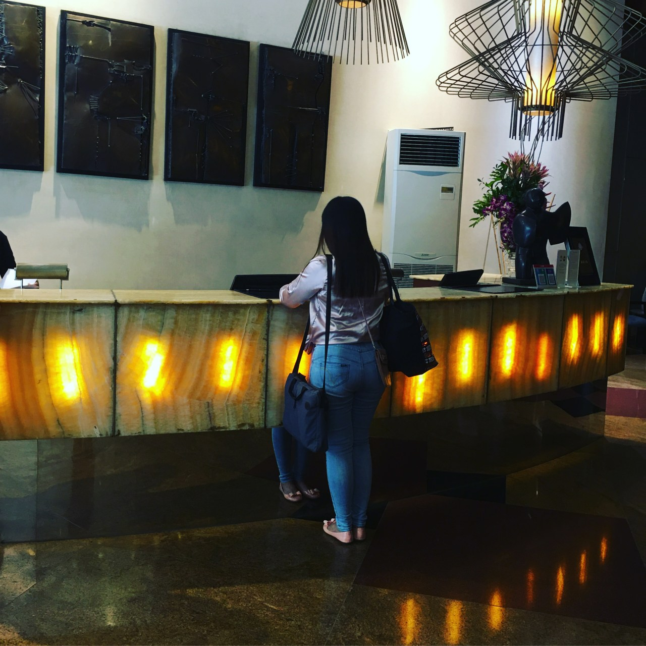 check-in during my staycation in Ortigas at Discovery Suites
