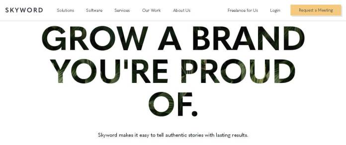 skyword best freelancing websites