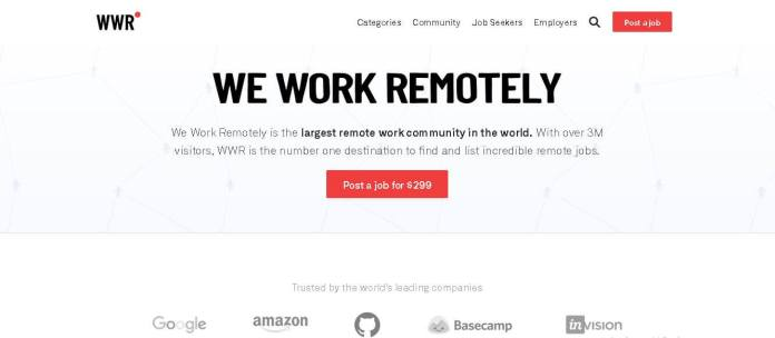 we work remotely best freelancing websites