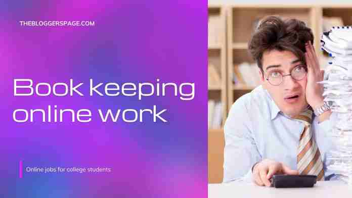 bookkeeping online part time jobs for college students