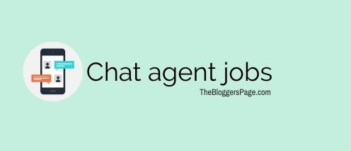 chat agent online typing jobs without investment daily payment