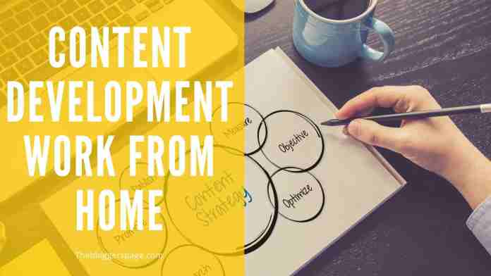 content development online part time jobs for college students