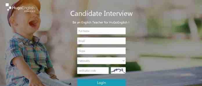 hugo english online tutoring jobs