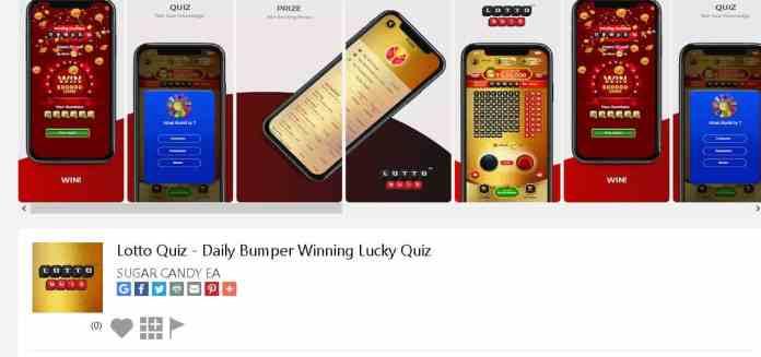 lotto quiz Best money making apps