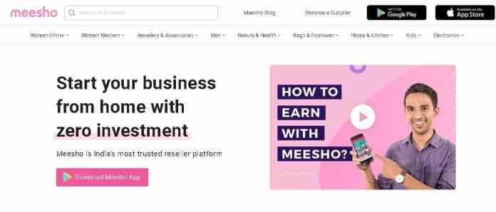 mesho Best money making apps
