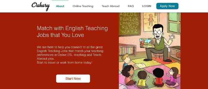 oakary online teaching jobs