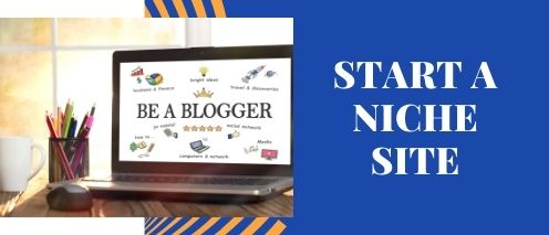 start a niche site amazon stay at home jobs