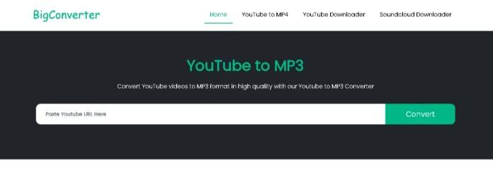 bigconverter youtube video downloader