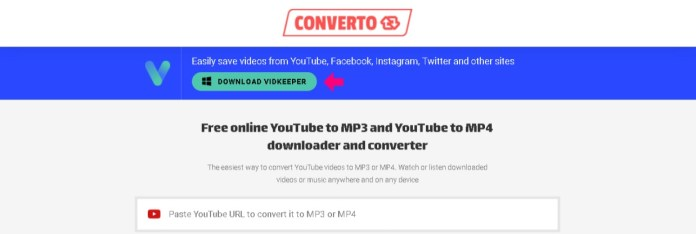converto.io youtube to mp3 converter