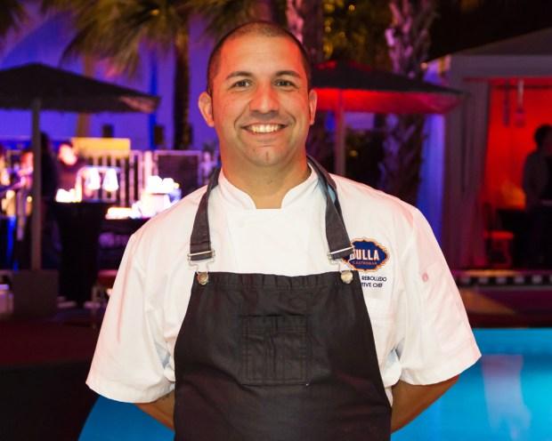 Chef Miguel Rebolledo Bulla Doral