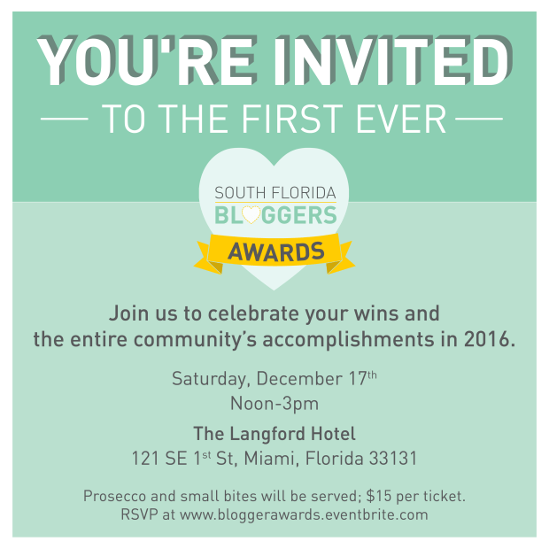 South Florida Blogger Awards