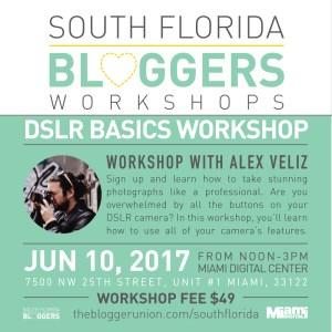 DSLR Camera Basics Workshop Miami
