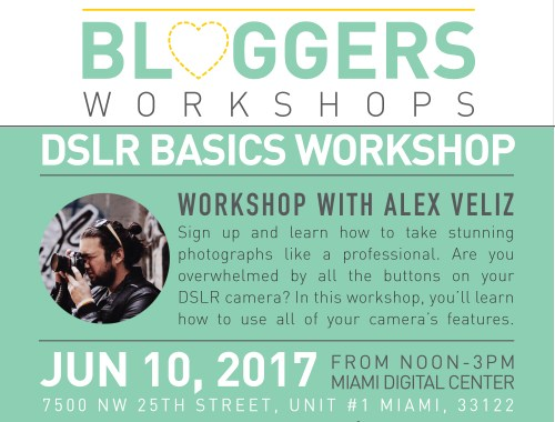 DSLR Camera Basics Workshop Miami