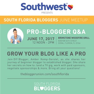 South Florida Bloggers June Meetup