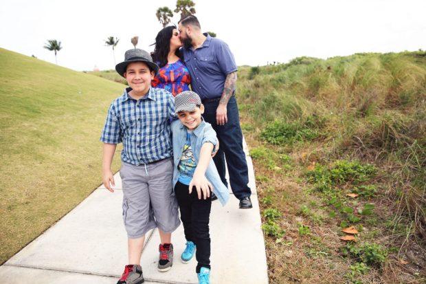 Nadia P Family Photo The Blogger Union