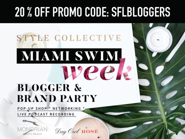 Style Collective Miami Swim Week Promo Code