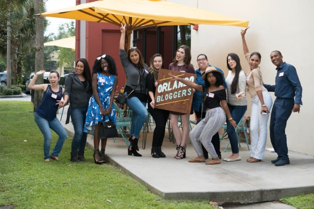 Orlando Bloggers October Meetup Fun Picture