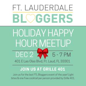 Ft Lauderdale Bloggers December Meetup
