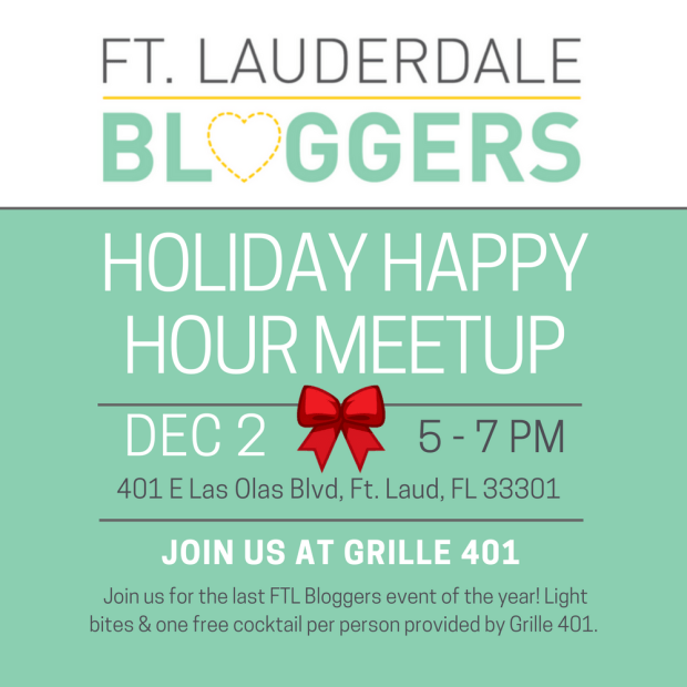 Ft Lauderdale Bloggers December Meetup