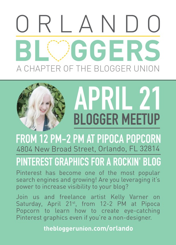 Orlando Blogger Union April Meetup