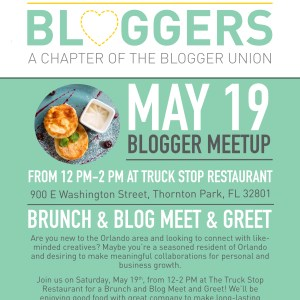 ORL BLOGGER MAY MEETUP FLYER THE BLOGGER UNION