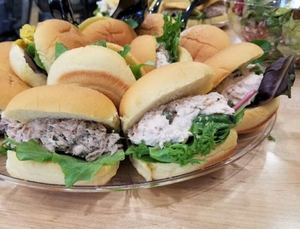 Sandwiches at Giardino's Gourmet Salads in Ft Lauderdale.