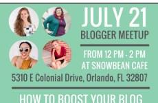 July 2018 Orlando Bloggers Meetup