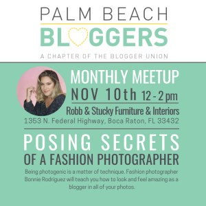 Palm Beach Bloggers Launch and Meetup