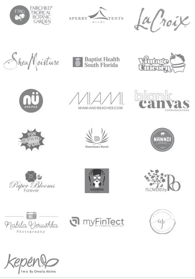 2018 South Florida Blogger Awards Sponsors