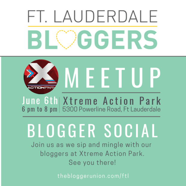 Xtreme Action Park hosts Ft Lauderdale Bloggers