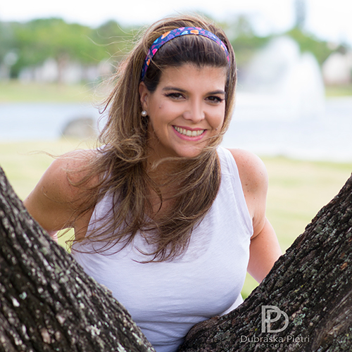 Maria is Miami Mom Bloggers - chapter officer