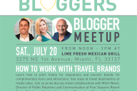 July South Florida Blogger Meetup