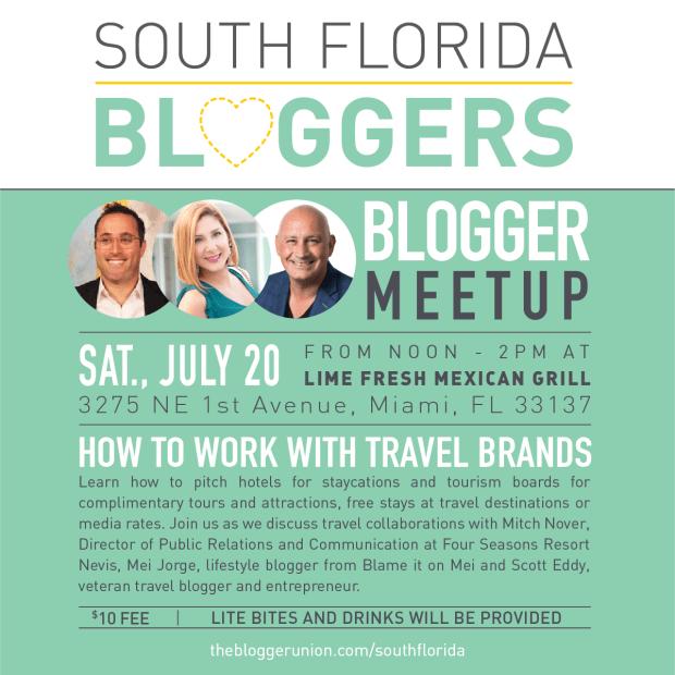 July South Florida Blogger Meetup