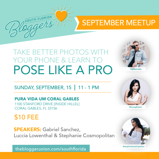 September 2019 Meetup How to take better photos with your phone