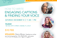 Finding your voice and writing engaging captions