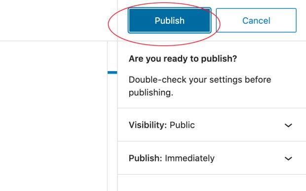 How to create a linktree with WordPress: publish your page or post