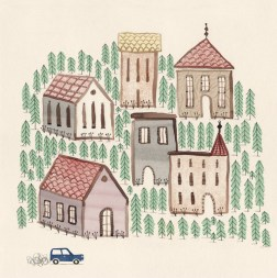 ∫Groundhog Day — The Village   promotional piece   2014 © Anna Raff