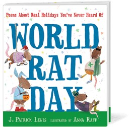 ∫World Rat Day | Published by Candlewick Press, 2013 © Anna Raff