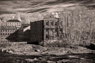 Axe handle factory – Infrared, Collinsville, Connecticut ©2014 Robert Marsala