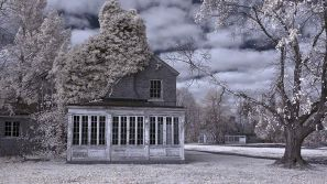 Fairfield Hills Hospital – Infrared, Newtown, Connecticut ©2014 Robert Marsala
