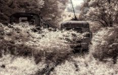 Lost 1886 - Infrared w/tone, Western Pennsylvania ©2014 Robert Marsala