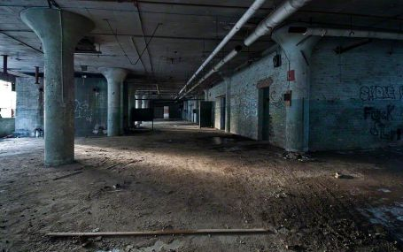 Ground Floor – J. R. Montgomery Company, Windsor Locks, Connecticut ©2014 Robert Marsala