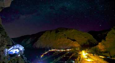 Skylodge at Night Wideangle