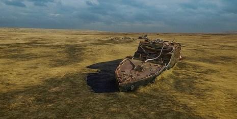 Titanic Bow Revealed