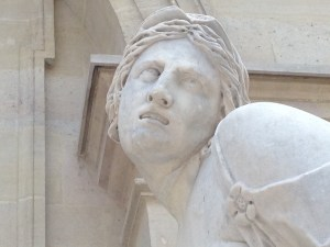 Louvre, schmouvre, I am soooooo over these gawking tourists....
