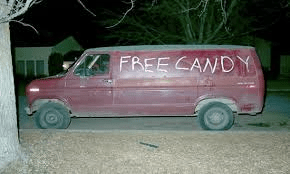 Want some bible candy, kiddies?